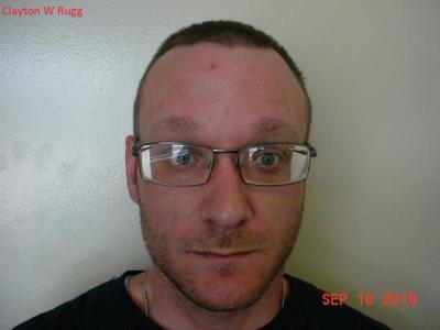 Clayton William Rugg a registered Sex or Violent Offender of Indiana