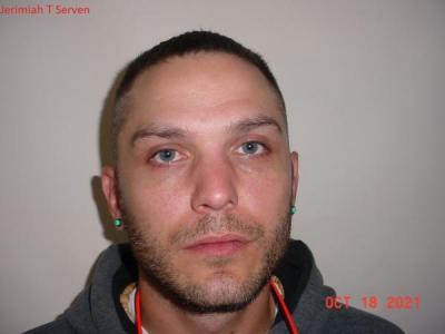 Jerimiah Tyke Serven a registered Sex or Violent Offender of Indiana