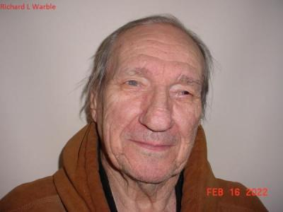 Richard L Warble a registered Sex or Violent Offender of Indiana