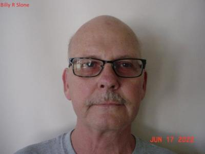 Billy Ray Slone a registered Sex or Violent Offender of Indiana