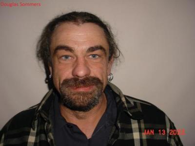 Douglas Ryan Sommers a registered Sex or Violent Offender of Indiana