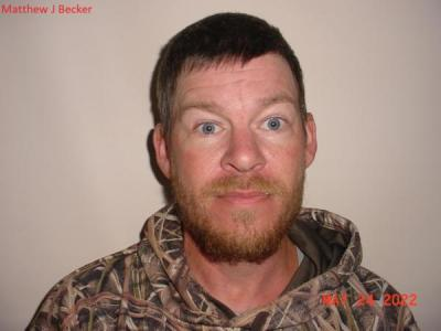 Matthew James Becker a registered Sex or Violent Offender of Indiana