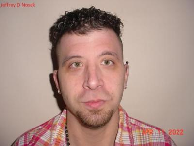 Jeffrey Douglas Nosek a registered Sex or Violent Offender of Indiana