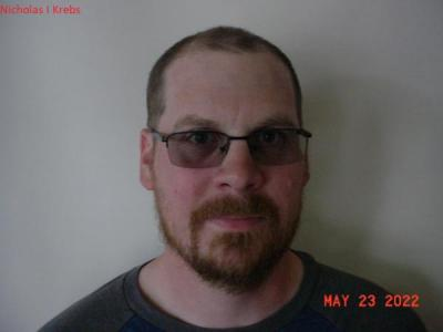 Nicholas Ian Krebs a registered Sex or Violent Offender of Indiana