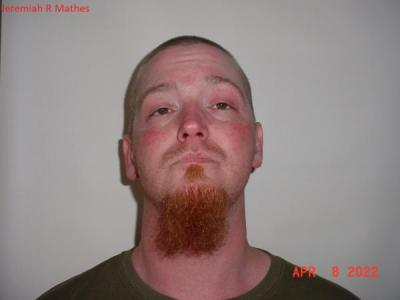 Jeremiah Ray Mathes a registered Sex or Violent Offender of Indiana