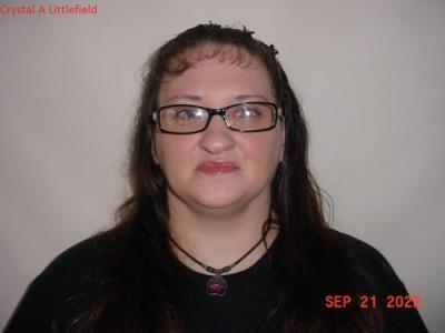 Crystal A Littlefield a registered Sex or Violent Offender of Indiana