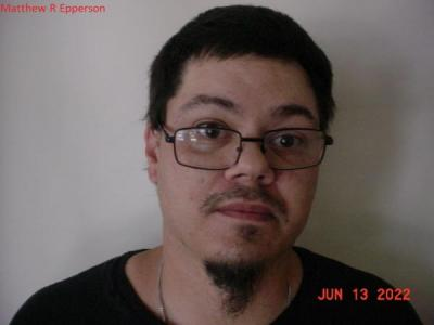 Matthew Ray Epperson a registered Sex or Violent Offender of Indiana