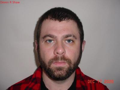Deven Ray Shaw a registered Sex or Violent Offender of Indiana