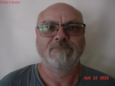 Philip Daniel Butler a registered Sex or Violent Offender of Indiana
