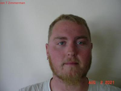 Jon T Zimmerman a registered Sex or Violent Offender of Indiana