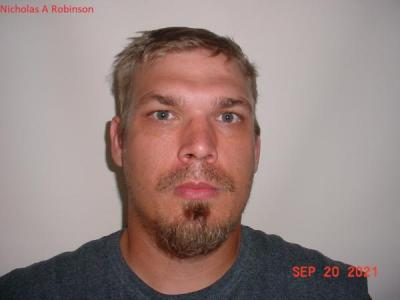 Nicholas A Robinson a registered Sex or Violent Offender of Indiana