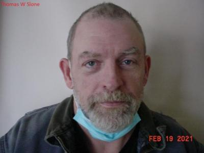 Thomas William Slone a registered Sex or Violent Offender of Indiana