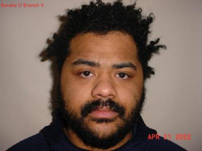 Baraka Onel Branch II a registered Sex or Violent Offender of Indiana