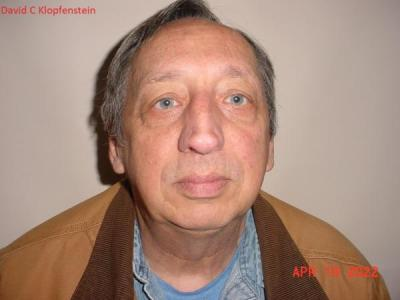 David Clyde Klopfenstein a registered Sex or Violent Offender of Indiana