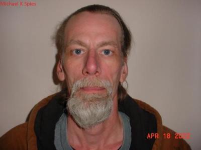 Michael K Spies a registered Sex or Violent Offender of Indiana