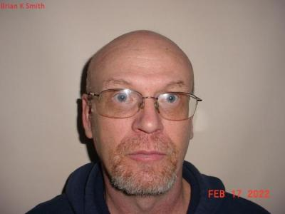 Brian Keith Smith a registered Sex or Violent Offender of Indiana
